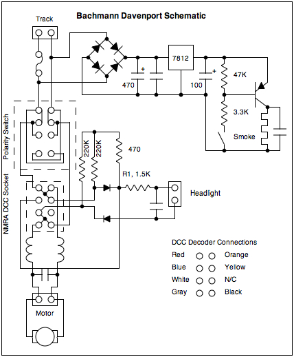 Bachmann Davenport Tips on 8 pin chassis, 8 pin transformer, 8 pin power supply, 8 pin serial, 8 pin connector diagram, 8 pin battery, 8 pin wire, 8 pin plug, rs232 connection diagram, 8 pin relay diagram, 8 pin switch,