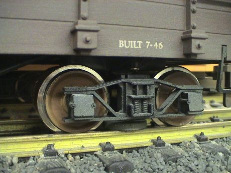 BRITE-BLOK G-SCALE TRACK CLEANER ATTACHMENT FITS ANY BACHMANN BOBBER CABOOSE