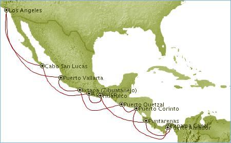 Map Of Panama Canal Zone. 3 Oct 06, Panama Canal, Panama